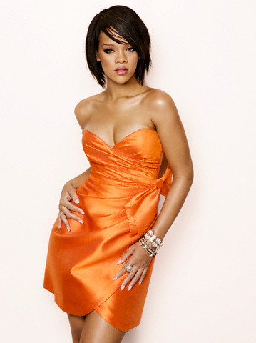 "album, Music of the Sun, which features the hit single ""Pon de Replay""."